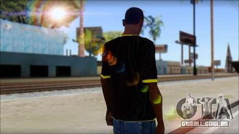 Harley Davidson T-Shirt para GTA San Andreas segunda tela