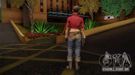 Misty from Call of Duty: Black Ops para GTA San Andreas segunda tela