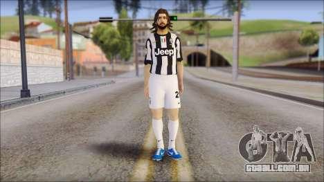 Andrea Pirlo para GTA San Andreas