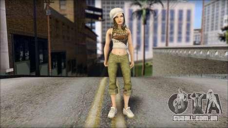 Um Aspirante A Miss para GTA San Andreas
