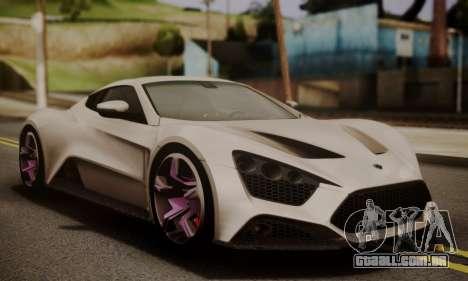 Zenvo ST SHDru Tuning para GTA San Andreas