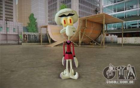 Squilliam from Sponge Bob para GTA San Andreas