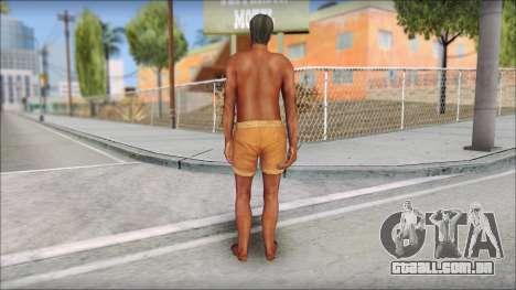 Beach Character 4 para GTA San Andreas terceira tela