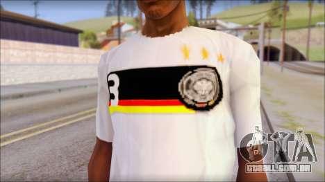 A.Friedrich Trikot T-Shirt para GTA San Andreas terceira tela