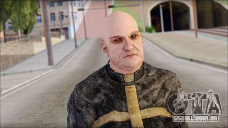 Father Martrin From Outlast para GTA San Andreas terceira tela
