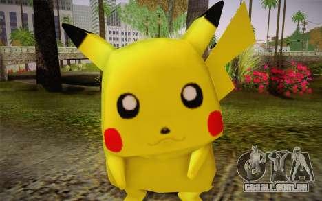 Pikachu para GTA San Andreas terceira tela