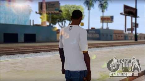 MTV T-Shirt para GTA San Andreas segunda tela