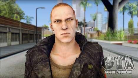 Jake Muller from Resident Evil 6 v2 para GTA San Andreas terceira tela