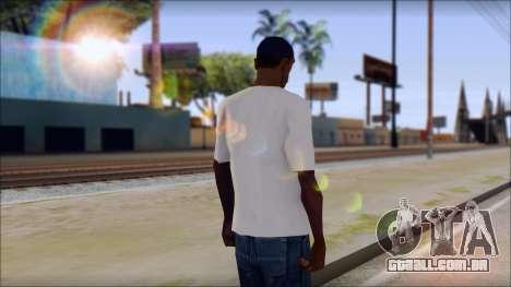 The Clash T-Shirt para GTA San Andreas segunda tela