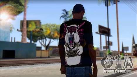 Eskimo Callboy Eisbaer T-Shirt para GTA San Andreas segunda tela