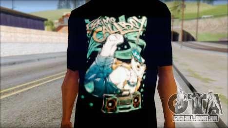 Eskimo Callboy Fan T-Shirt para GTA San Andreas terceira tela