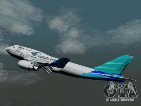Boeing 747-400, Garuda Indonesia para GTA San Andreas