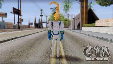 Earthworm Jim para GTA San Andreas terceira tela