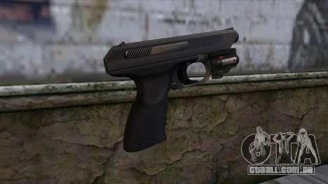 VP-70 Pistol from Resident Evil 6 v1 para GTA San Andreas segunda tela