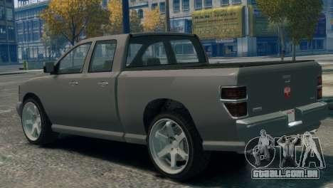 GTA V Bravado Bison para GTA 4 esquerda vista
