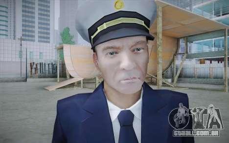 Commercial Airline Pilot from GTA IV para GTA San Andreas terceira tela