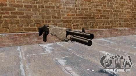 Sua arma Franchi SPAS-12 ACU Camouflage para GTA 4