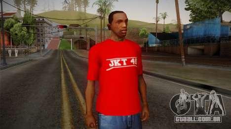 JKT48 Hardcore T-Shirt para GTA San Andreas
