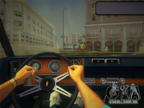 Oldsmobile 442 1970 para GTA Vice City vista direita
