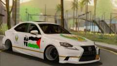 Lexus IS350 FSport 2014 Hellaflush para GTA San Andreas