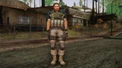 Chris Redfield from Resident Evil 6