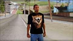 Randy Orton Black Apex Predator T-Shirt para GTA San Andreas