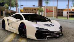Pegassi Zentorno from GTA 5 v3
