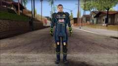 Piers Azul no Gorra para GTA San Andreas