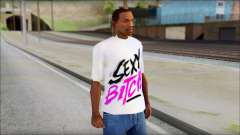 David Guetta Sexy Bitch T-Shirt para GTA San Andreas
