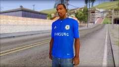 Chelsea F.C Drogba 11 T-Shirt para GTA San Andreas