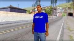 Sparco T-Shirt para GTA San Andreas