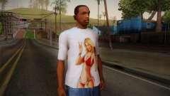 GTA 5 Hot Girl T-Shirt para GTA San Andreas