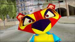 Chang the Firefox from Fur Fighters Playable para GTA San Andreas