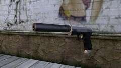 Silenced Combat Pistol from GTA 5 para GTA San Andreas