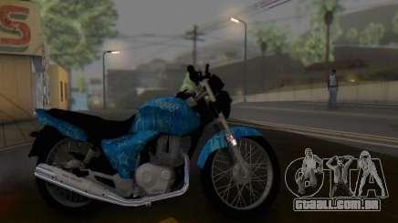 Yamaha YBR Blue Star para GTA San Andreas
