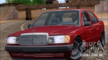 Mercedes Benz 190E Drift V8 para GTA San Andreas
