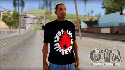 Stiff Little Fingers T-Shirt para GTA San Andreas