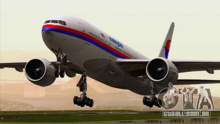 Boeing 777-2H6ER Malaysia Airlines para GTA San Andreas