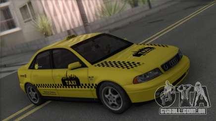 Audi A4 1.9 TDI 2000 Taxi para GTA San Andreas