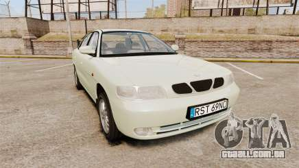 Daewoo Nubira I Sedan CDX PL 1997 para GTA 4