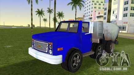 O novo caminhão de lixo Beta para GTA Vice City