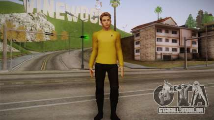 James T. Kirk From Star Trek para GTA San Andreas