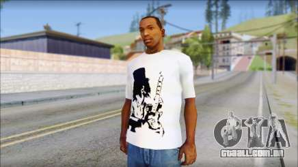 Slash T-Shirt para GTA San Andreas