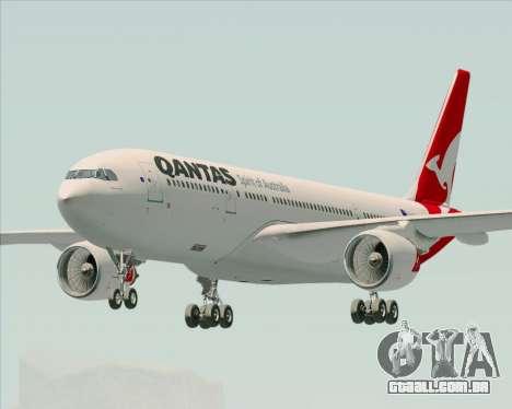 Airbus A330-200 Qantas para GTA San Andreas