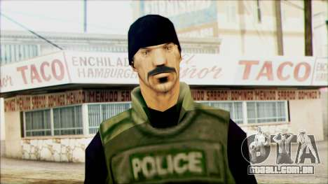 SWAT from Beta Version para GTA San Andreas terceira tela