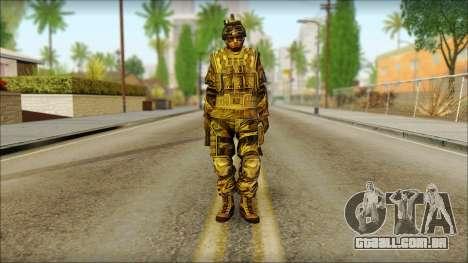 Soldados da UE (AVA) v5 para GTA San Andreas