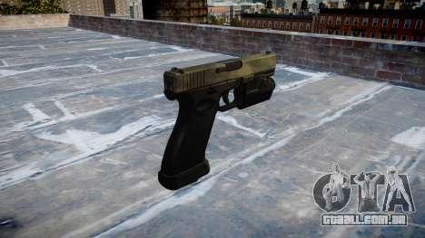 Pistola Glock de 20 a tac au para GTA 4 segundo screenshot