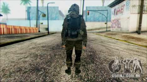 Soldados a bordo (CoD: MW2) v2 para GTA San Andreas segunda tela