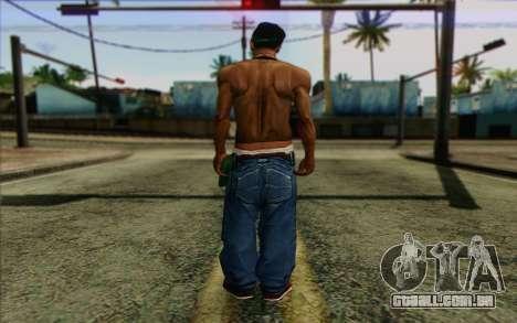 CиДжей в стиле BrakeDance para GTA San Andreas segunda tela