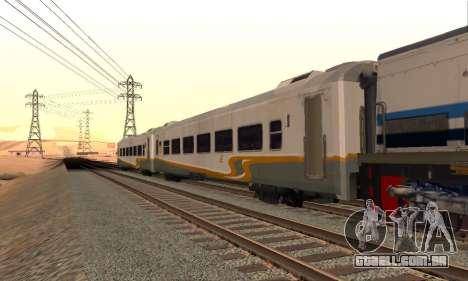 K1 Argo Traincar Indonésio para GTA San Andreas